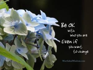 Be ok even if