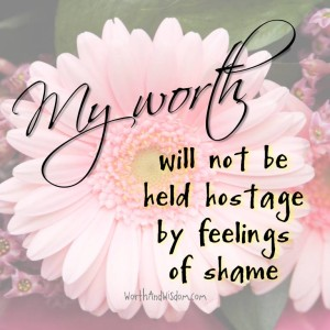my worth will not be hostage